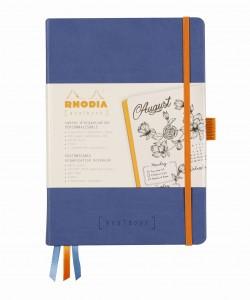 Rhodia Rhodiarama Goalbook A5 - Saphir - ivory dotted sheets