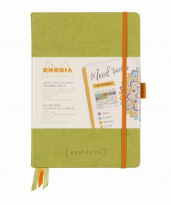 Rhodia Rhodiarama Goalbook A5 - Anise green - ivory dotted sheets
