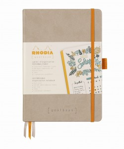 Rhodia Rhodiarama Goalbook A5 - Beige - ivory dotted sheets