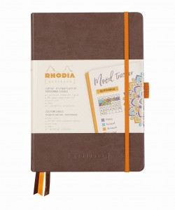 Rhodia Rhodiarama Goalbook A5 - Chocolate - ivory dotted sheets