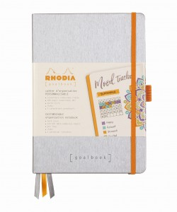 Rhodia Rhodiarama Goalbook A5 - Silver - ivory dotted sheets
