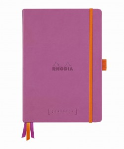 Rhodia Rhodiarama Goalbook A5 - Lilac - white dotted sheets