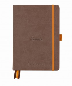 Rhodia Rhodiarama Goalbook A5 - Chocolate - white dotted sheets