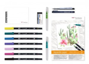 Tombow Have Fun @ Home Set - Watercoloring