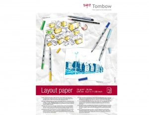 Blok Tombow Layout Paper A4 - 75 ark.