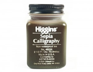 Calligraphy Ink 73,9 ml - sepia