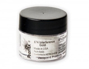 Pigment Pearl Ex - 674 Interference Gold - 3g
