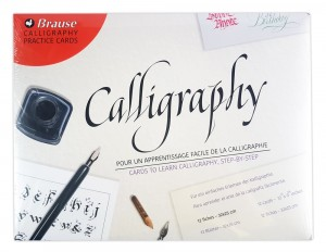 Brause Calligraphy Instruction Cards