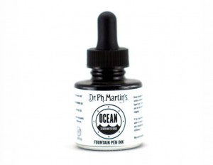 Ocean Fountain Pen Ink 29,6 ml - Dark Matter Black