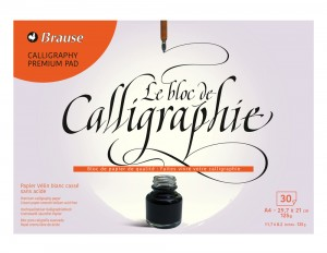 Brause Calligraphy Pad - 30 sheets
