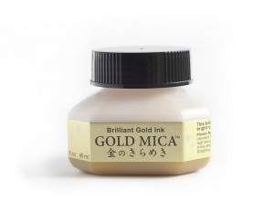 Gold Mica Ink - 60 ml