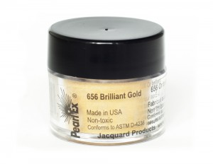 Pigment Pearl Ex - 656 Brilliant Gold - 3g