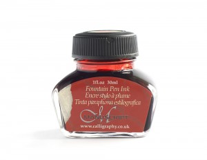Manuscript Fountain Pen Ink 30 ml - red