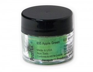 Pigment Pearl Ex - 635 Apple Green - 3g