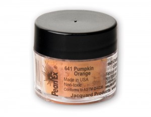 Pigment Pearl Ex - 641 Pumpkin Orange - 3g