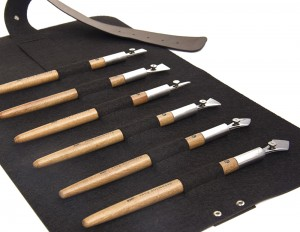 Ruling Pens - Set of 6 - Pen Case