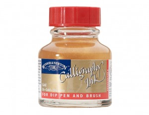 Calligraphy Ink 30 ml - Gold