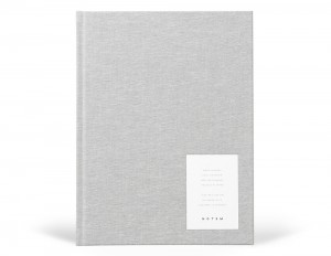 EVEN Work Journal Large - Light Gray