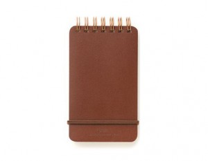 Grain Memo Pad - brown