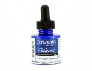 Iridescent Calligraphy Color 29,6 ml - Deep Blue