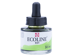 Ecoline - farba wodna 30 ml - 601 Light Green