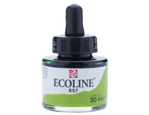Ecoline - water colour 30 ml - 657 Bronze Green