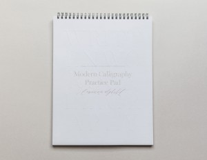 Modern Calligraphy Practice Pad - Lowercase