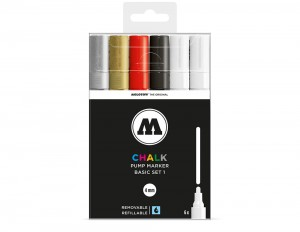 Molotow Chalk Marker 4 mm - set of 6