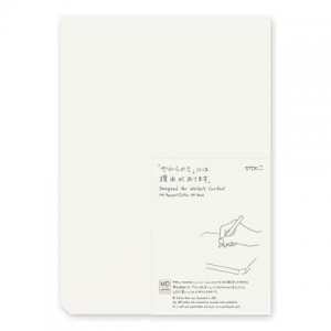 MD Paper Pad Cotton A4 - blank