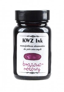Atrament KWZ Ink Brązowo-różowy - 60 ml