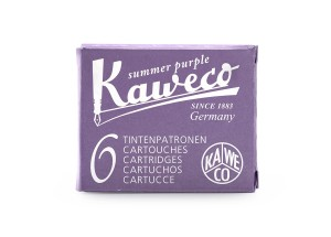 Kaweco Ink Cartridges - pack of 6 - Summer Purple