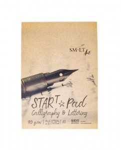 SMLT Calligraphy & Lettering Start Pad A5 - 30 sheets