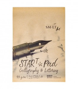 SMLT Calligraphy & Lettering Start Pad A4 - 30 sheets