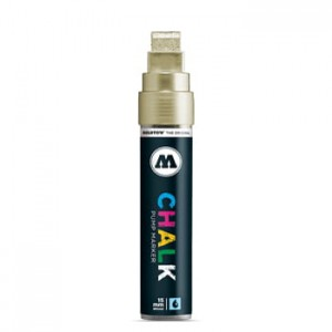 Molotow Chalk Marker 15 mm - 001 metallic gold