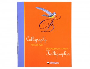 Brause Calligraphy Practice Notebook