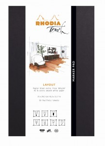 Blok Rhodia Touch Marker Pad - A4