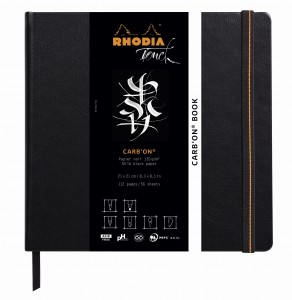 Rhodia Touch Carb'on® Book - 21 x 21 cm