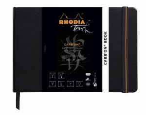 Rhodia Touch Carb'on® Book - A5