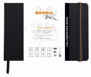 Rhodia Touch Calligrapher Book - A5