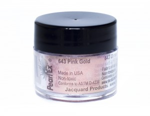Pigment Pearl Ex - 643 Pink Gold - 3g