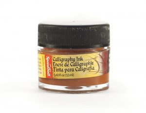 Tusz do kaligrafii 12 ml - umbra palona