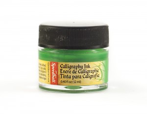 Tusz do kaligrafii 12 ml - emerald green
