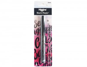 Higgins Black Magic Brush Pen - 2 mm