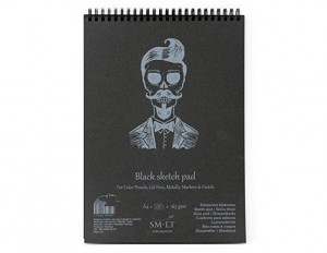 Blok Black Sketch Pad A4 - 30 ark.