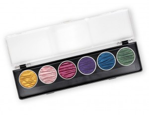 Coliro Pearl Colors - 6 colors - Rainbow