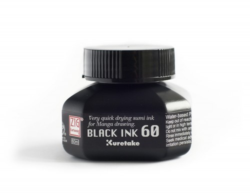 ZIG Cartoonist Black Ink 60